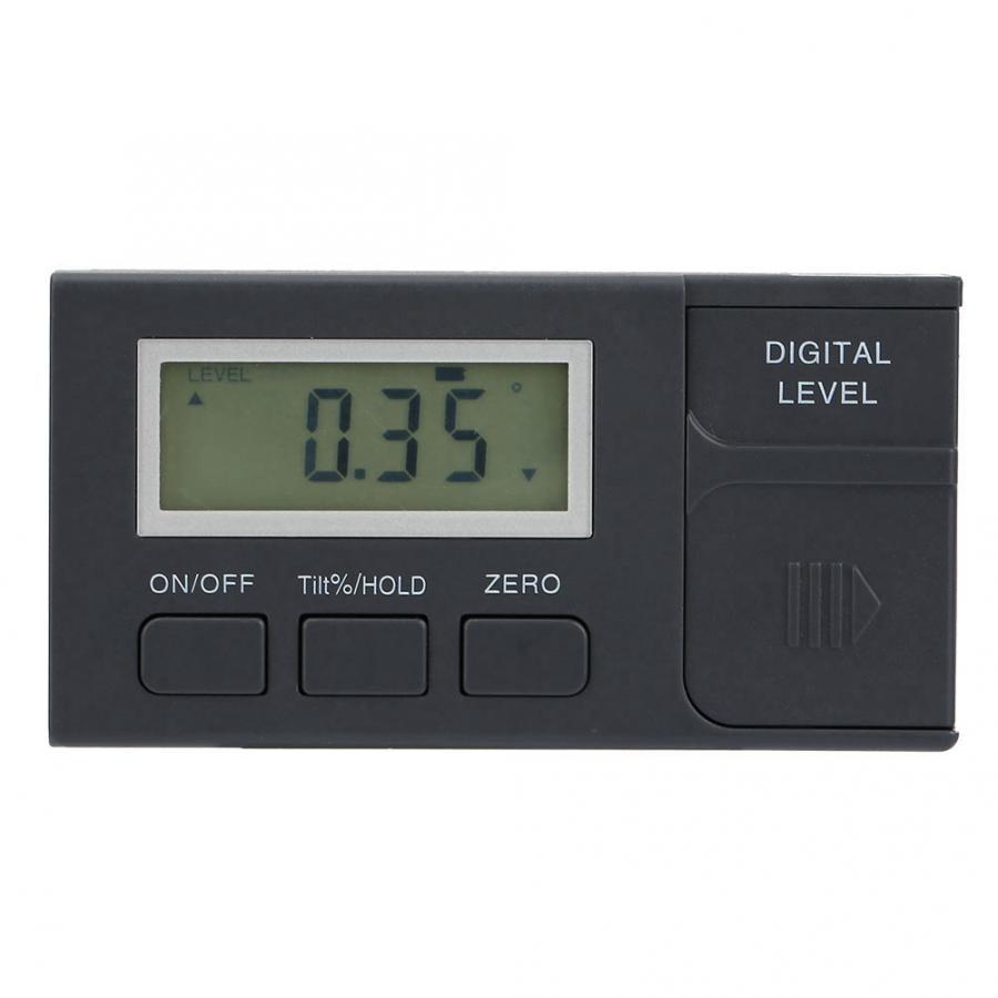 Inclinometer Double Side Magnetische Multifunctionele 4x90 Hoek Finder Digitale Gradenboog Inclinometer Meter Gradenboog Korting