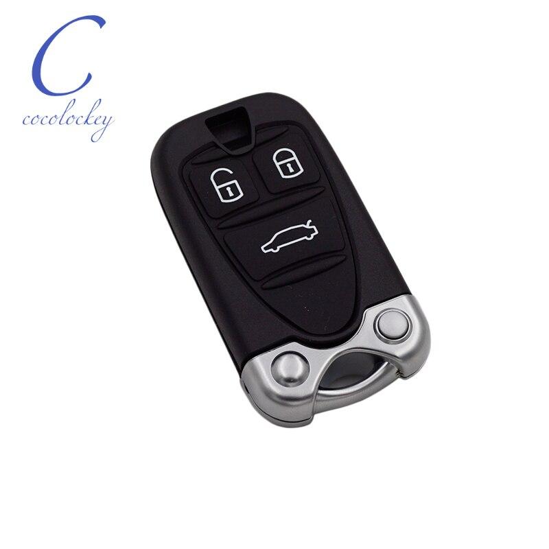 Plegable carcasa llave mando a distancia rohling para Alfa Romeo funk clave