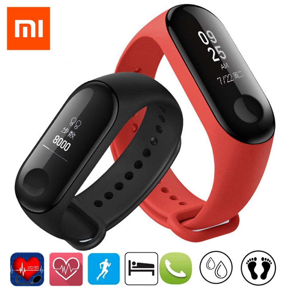 Global CN NFC Versie Multi Talen Russisch Engels Spaans Frans Menu Xiao mi mi band mi band 3 polsband smart band Armband