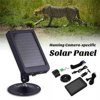 7.4W Hunting Camera Battery Solar Panel Charger External Power Mini Camera Battery Solar Panel HT 002LIM HT 002A HT 002LI