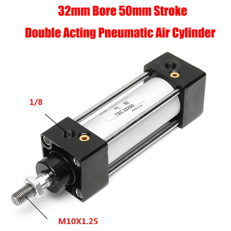 1Pcs 16mm Bore 30mm Stroke Mini Pneumatic Air Cylinder CDJ2B16-30-B