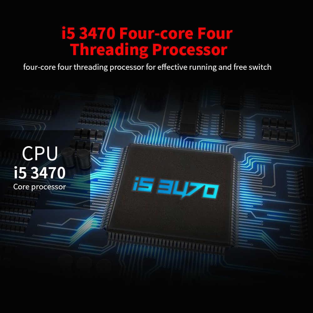 Jingsha B75 اللوحة LGA 1155 M-ATX LGA1155 اللوحة DDR3 اللوحة الرئيسية i5 3470 الأساسية CPU USB3.0 SATA3.0 ل جهاز كمبيوتر شخصي