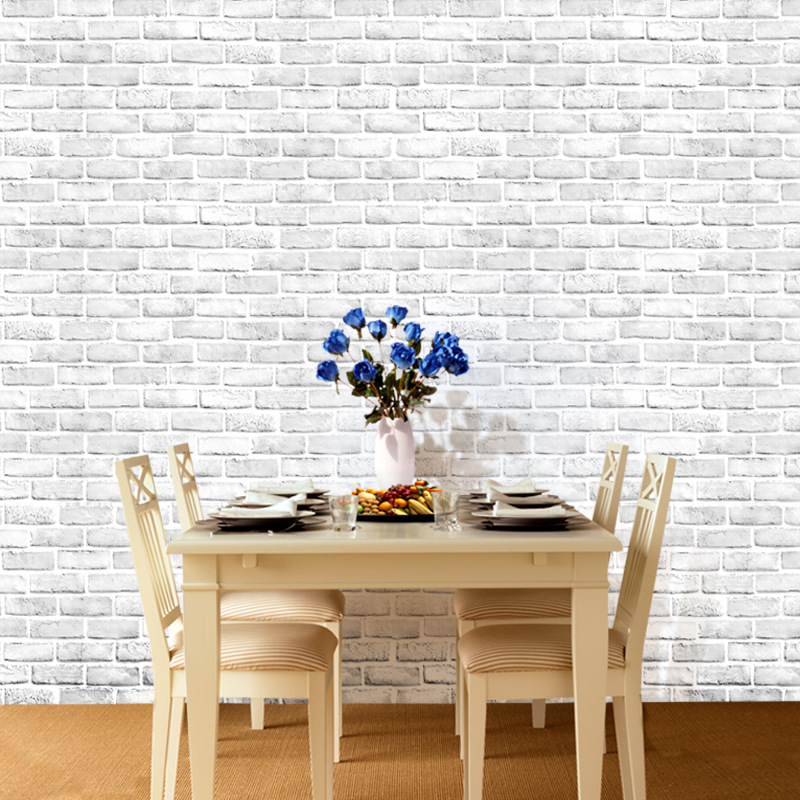 Brick Self Adhesive Peel And Stick Wallpaper Home Decor Vintage Brick Wallpaper For Living Room Home Improvement Wallpaper Roll