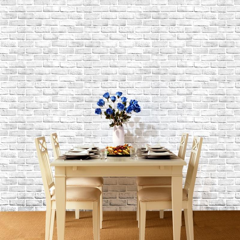 Brick Self Adhesive Peel And Stick Wallpaper Home Decor Vintage Brick Wallpaper For Living Room Home Improvement Wallpaper Roll