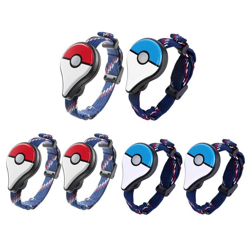 2 pièces Bracelet Bracelet Bluetooth interactif Figure jouets jeu accessoire pour nessa Pokemon Go Plus