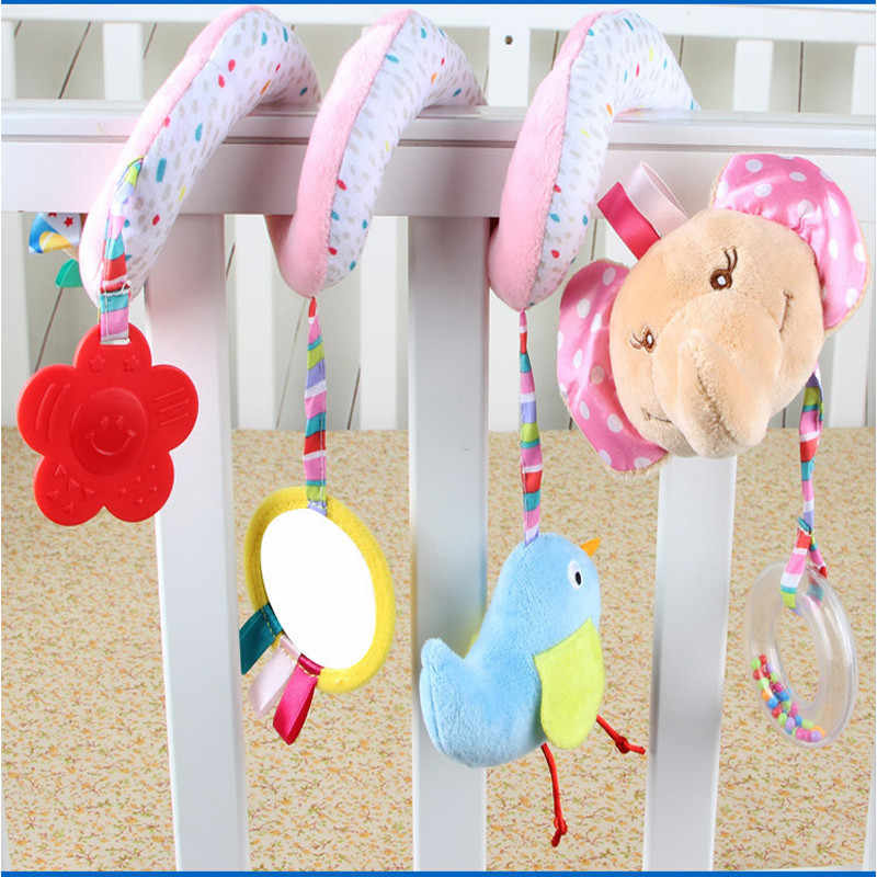 Lovely Baby Unicorn Hot Sale Padded Play With Detachable Hanging Stuffed Toys Baby Rattles Two Styles