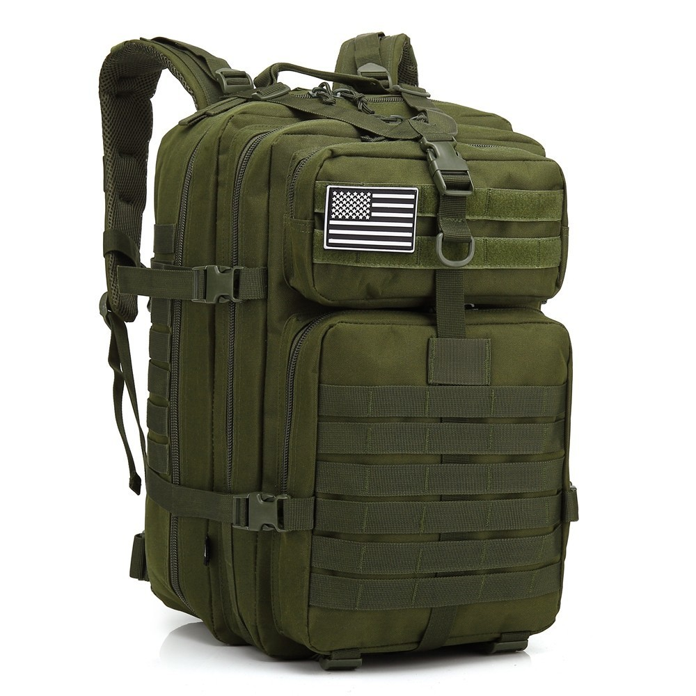Assault Backpack Military-Bags Bug-Out-Bag Trekking Molle Army Tactical Outdoor Waterproof