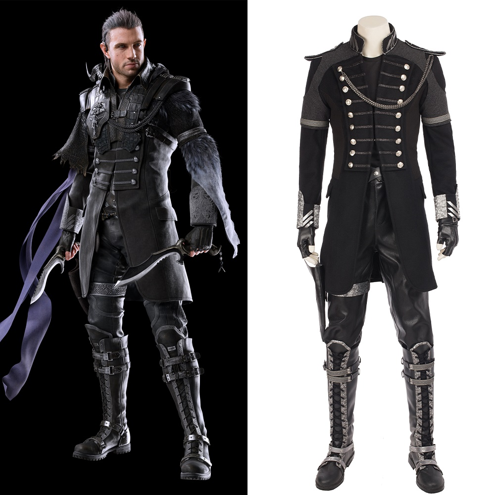 Final Fantasy XV Kingsglaive Nyx Ulric Cosplay Costume Halloween Outfit
