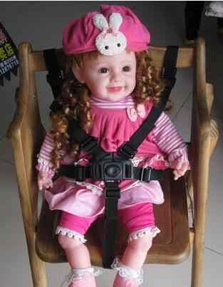 เด็ก Universal 5 จุดเข็มขัดนิรภัยเข็มขัดนิรภัยสำหรับรถเข็นเด็กเก้าอี้สูงรถเข็นเด็ก Buggy เด็กรถเข็นเด็ก