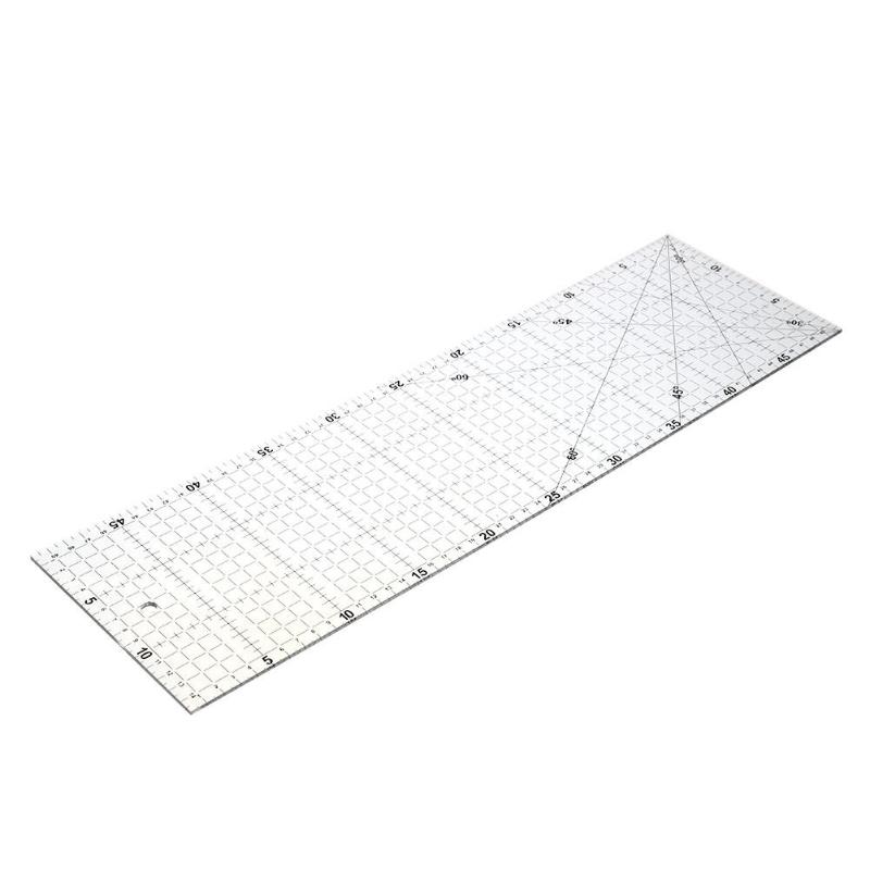 Multi-function DIY Sewing Ruler Yardstick Clothing Cutting Rulers Patchwork High Quality Acrylic Material Measuring Tools