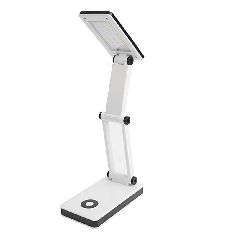LED Desk Light AA Battery Powered/USB Rechareable Desk Lamp 24 LED High Brightness Folding White Light Reading Table LampLED Desk Light AA Battery Powered/USB Rechareable Desk Lamp 24 LED High Brightness Folding White Light Reading Table Lamp