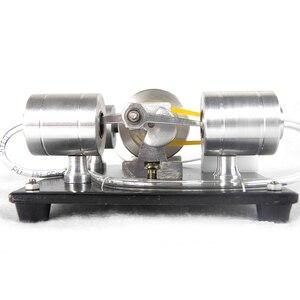 Image 4 - DIY הרכבה קיטור מנוע דגם מדע ניסוי ערכת חשמלי גנרטור מוקדם צעצועים חינוכיים לילדים