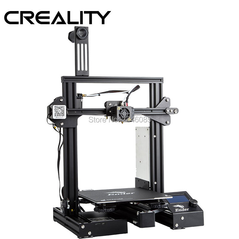 Image 3 - CREALITY 3D Ender 3 Pro Printer Printing Masks Magnetic Build Plate Resume Power Failure Printing DIY KIT MeanWell Power Supply3D Printers   -