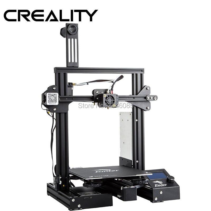 Image 3 - CREALITY 3D Ender 3 Pro Printer Printing Masks Magnetic Pad Plate Resume Power Failure Printing DIY KIT MeanWell Power Supplyfilament sensor3d printerprinter 3d -