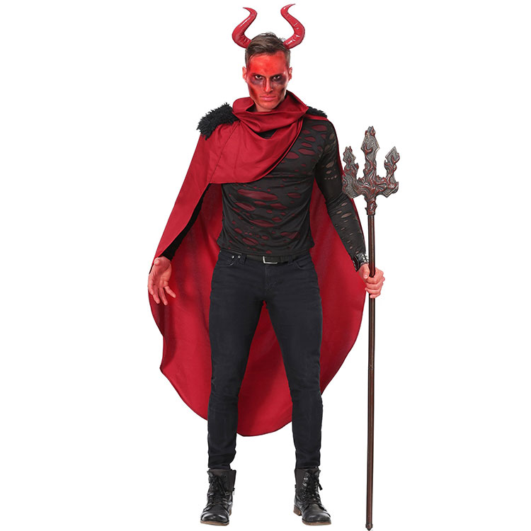 Memune Adult Devil Carnival Evil Horror Demon Robe Halloween Cosplay Costume For Man