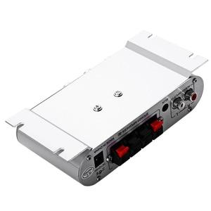 Image 4 - Tragbare LP 808 12V MiNi HiFi Super Bass Verstärker 3,5mm AUX Für motorrad MP3 Mp4 PC mit volumen Control