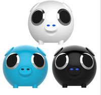 cartoon wireless bluetooth mini speaker portable power Bank 2 in 1