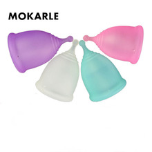 Medical Silicone Menstrual Cup Soft Period Cup For Women Men