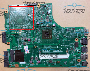 Janus AMD MB 13325-1 PWB:1102F REV:A00 0TFPK8 TFPK8 DDR3 E1-6010 motherboard for DELL Vostro 14 3000 3445