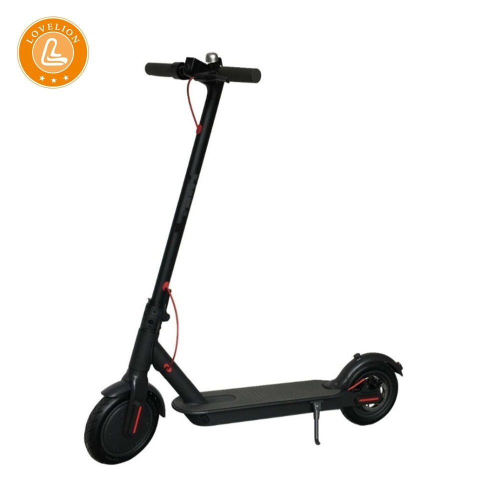 LOVELION EW6 foldable electric scooter 8.5inch two wheel dark fashionable e-scooter LCD display scooters SUPERTEFF