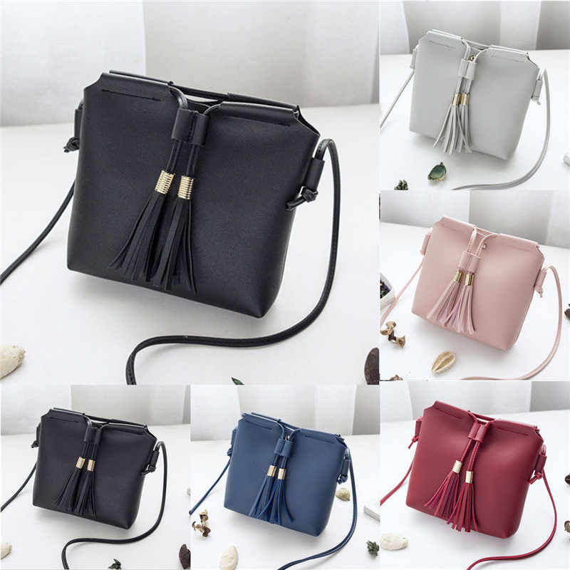 女性女性革ハンドバッグショルダーバッグメッセンジャーサッチェルトートクロスボディバッグ財布