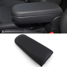 Car Armrest Covers for VW Golf 4 JETTA MK4 Skoda Octavia Caruniversal Interior Center Console Lid  Cover Black
