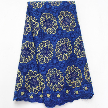 African Lace Fabric Swiss Voile Laces Fabrics High Quality Cotton Lace Fabric French Lace Fabric For Men Women Every Dress