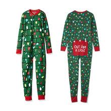 Pudcoco 2018 Family Matching Christmas Pajamas Sets Sleepwea