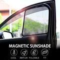 4 шт./компл.  или 2 шт./компл.  для Honda CRV 2008-2019  занавес для автомобиля  черный  магнитный  для автомобиля  боковое окно  солнцезащитные тени  сетч...