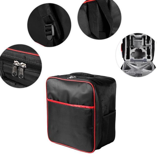 Remote Flight Simulator Accessories Backpack Soft Bag Shoulder Bag Outside Carrying Case