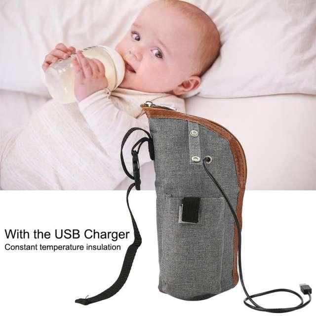 Calentador de biberones por USB con aislamiento