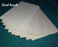 AAA+ Balsa Wood Sheets 150x100x1.5mm Model Balsa Wood for DIY RC model wooden plane boat material