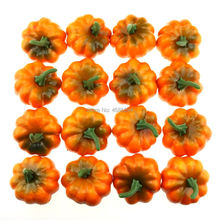 Gresorth 16 PCS Artificial MINI Pumpkins Fake Flat Pumpkin Home Kitchen Party Decoration flat stanley and the missing pumpkins