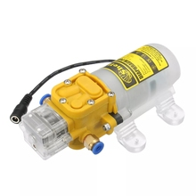 цена на 12V-24V 80W Car washing machine Diaphragm Water Pump High Pressure Diaphragm Water Self Priming