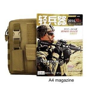 Image 4 - Sac à dos tactique pour hommes, sacoche militaire Camo imperméable pour Sports de plein air voyage, sac à main sec de chasse