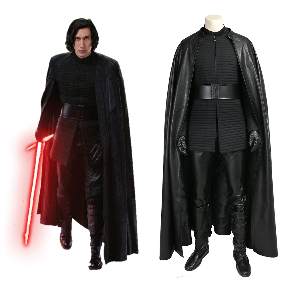 Star Wars Episode VIII The Last Jedi Kylo Ren Cosplay Costume