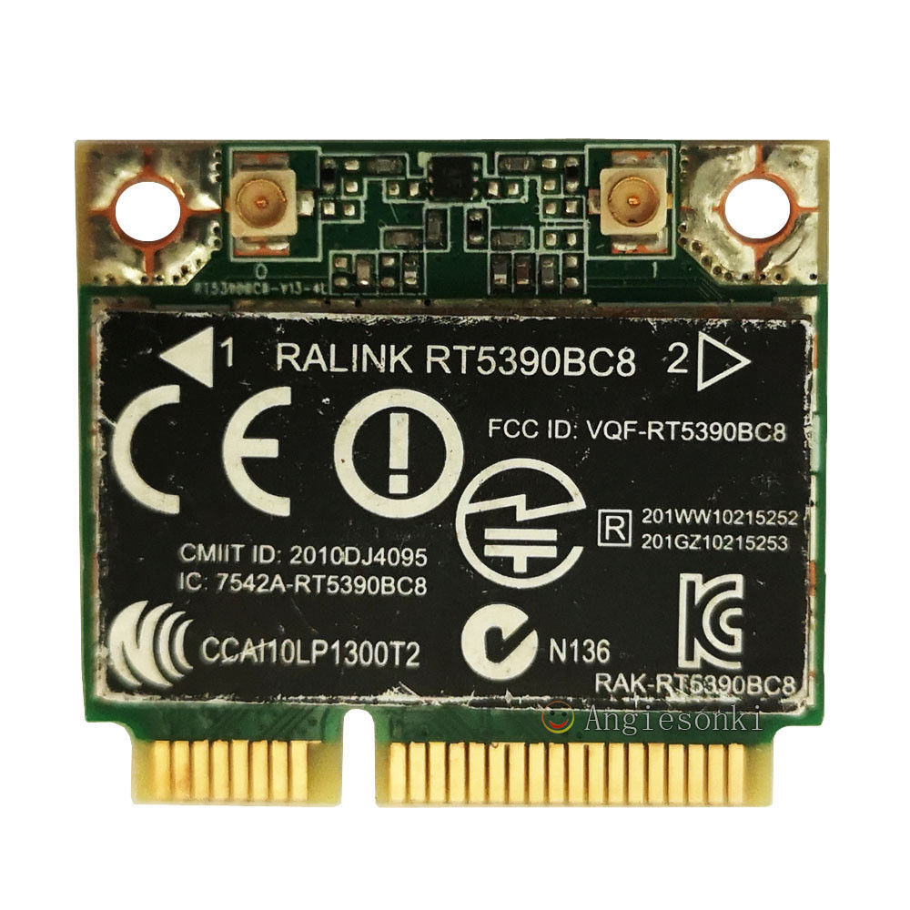 SSEA Wireless Card WiFi Bluetooth3.0 For Ralink RT5390BC8 Half Mini PCI-E 802.11b/g/n For Hp DM1 DV4 DV7 G4 G6 G7 SPS:630705-001