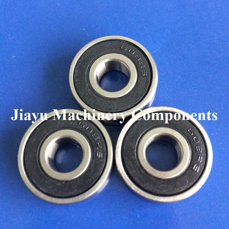 Free Shipping 50 PCS 608-2RS Skateboard Bearings 8x22x7 Radial Ball Bearings 608 RS