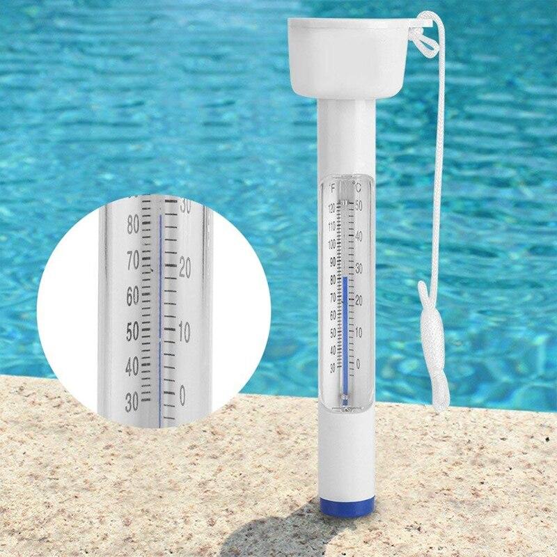 1 Pc Schwimm Thermometer Für Schwimmen Pools Spas Whirlpools Fischteiche Wasser Control Temperatur Tester Meter Für Baby Bad Jahre Lang StöRungsfreien Service GewäHrleisten