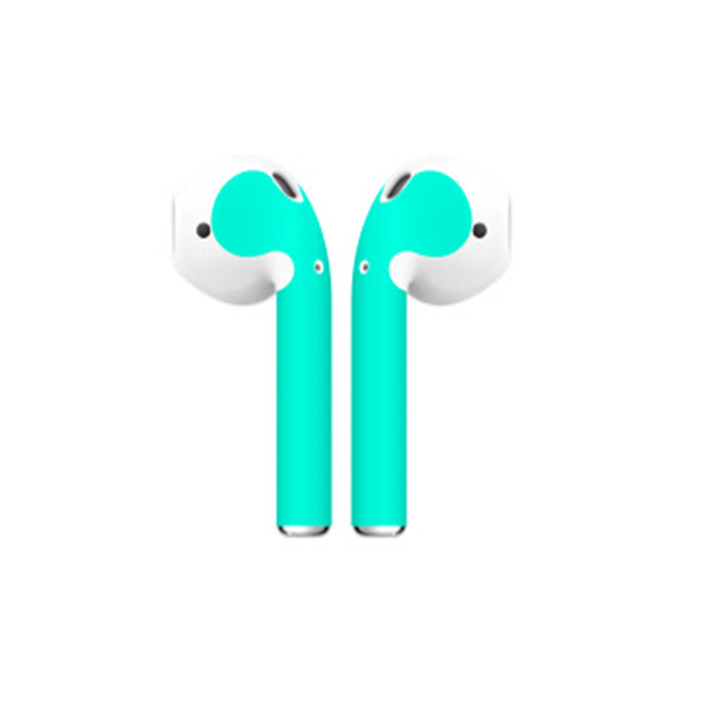 Image 4 - Fine Skin Sticker For Apple Airpods Air Pods Earphone Sticker Earphone Accessories-in Stickers from Consumer Electronics