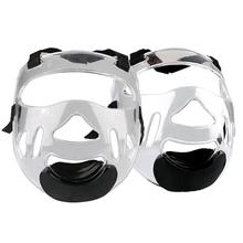 New Sports Clear Face Shield Safe Adjusting Head Shield Removable Taekwondo Helmet Mask Protective Gear For Both Men And Women taekwondo helmet head protection new white taekwondo helmet once forming head protection s m l