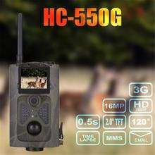 hot deal buy hc550g 3g hunting trail camera 12mp 1080p infrared night vision wild animal camera photo traps hunter game chasse scout