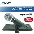 Проводной микрофон для караоке BETA58A  динамический суперкардиоидный микрофон  10 шт.