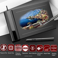 S640 Graphic Drawing Tablet 5080LPI 6X4 Inch Digital Drawing Pad with Battery free Pen Writing Painting Tablet Drawing Board