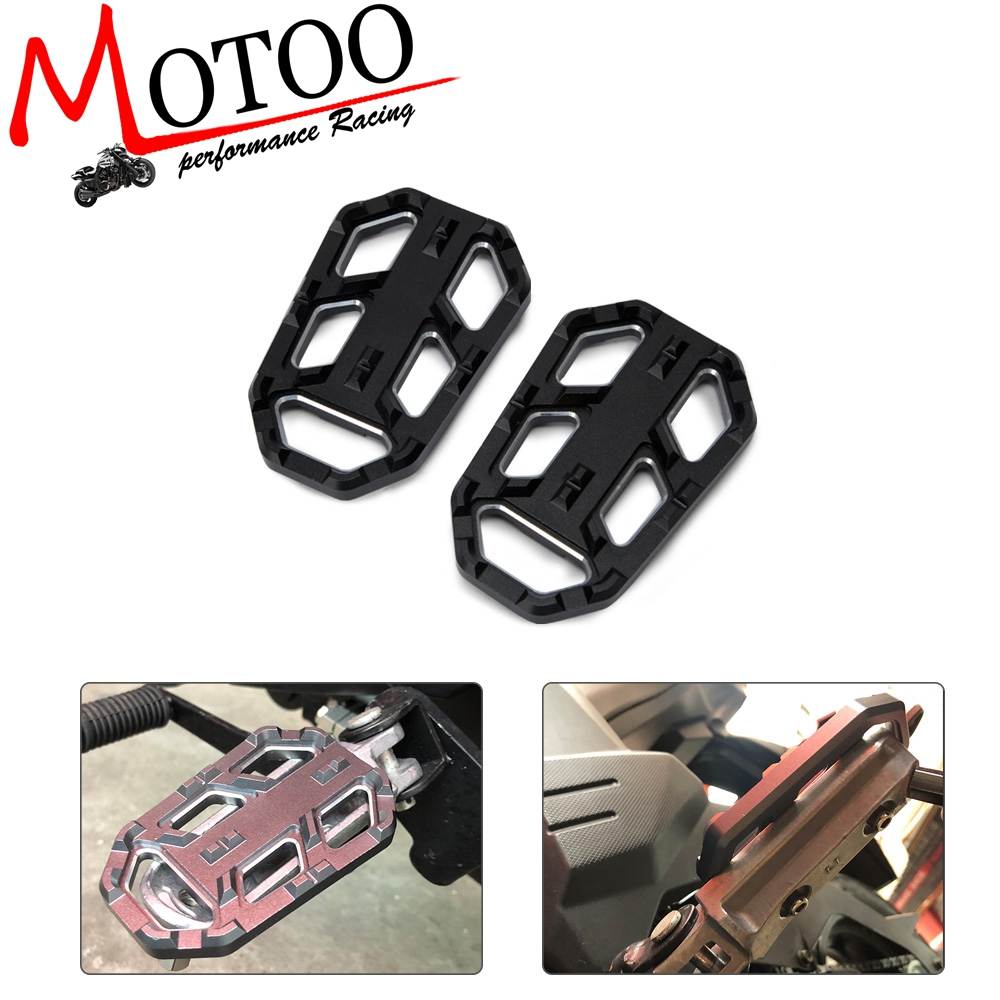 Motorcycle Foot Peg Footpegs Footrests Pedal Enlarger For Honda CB500X 2015-2016 15 16