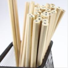 Ellen Brook 1 шт. Корейская Милая Канцелярия Burlywood без краски здоровые стандартные карандаши школьные модные офисные принадлежности