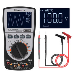 Upgraded MUSTOOL MT8206 2 in 1 Intelligent  Digital Oscilloscope Multimeter with Analog Bar Graph
