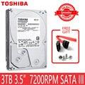TOSHIBA 3 TB HDD HD 7200 RPM 3,5