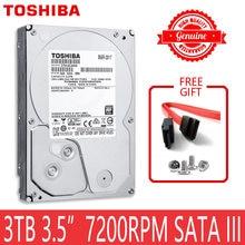 TOSHIBA 3 TO HDD HD 7200 RPM 3.5
