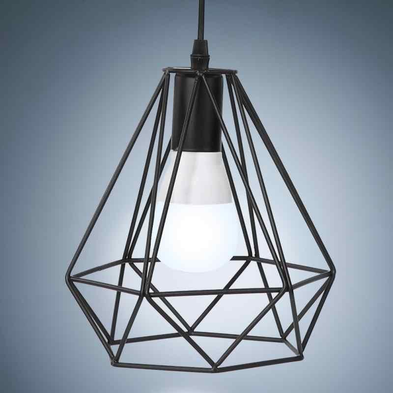 E27 современный Стиль подвесные светильники Hanglamp Утюг подвесной потолочный светильник подвесной свет 90-250 V lamparas де techo colgante moderna